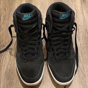 Nike Dunk Sky Hi Black Gum